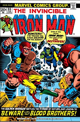 Iron Man (1968-1996) No.55