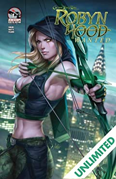 Robyn Hood #1 (of 5): Wanted