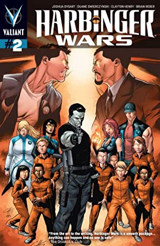 Harbinger Wars No.2 (sur 4): Digital Exclusives Edition