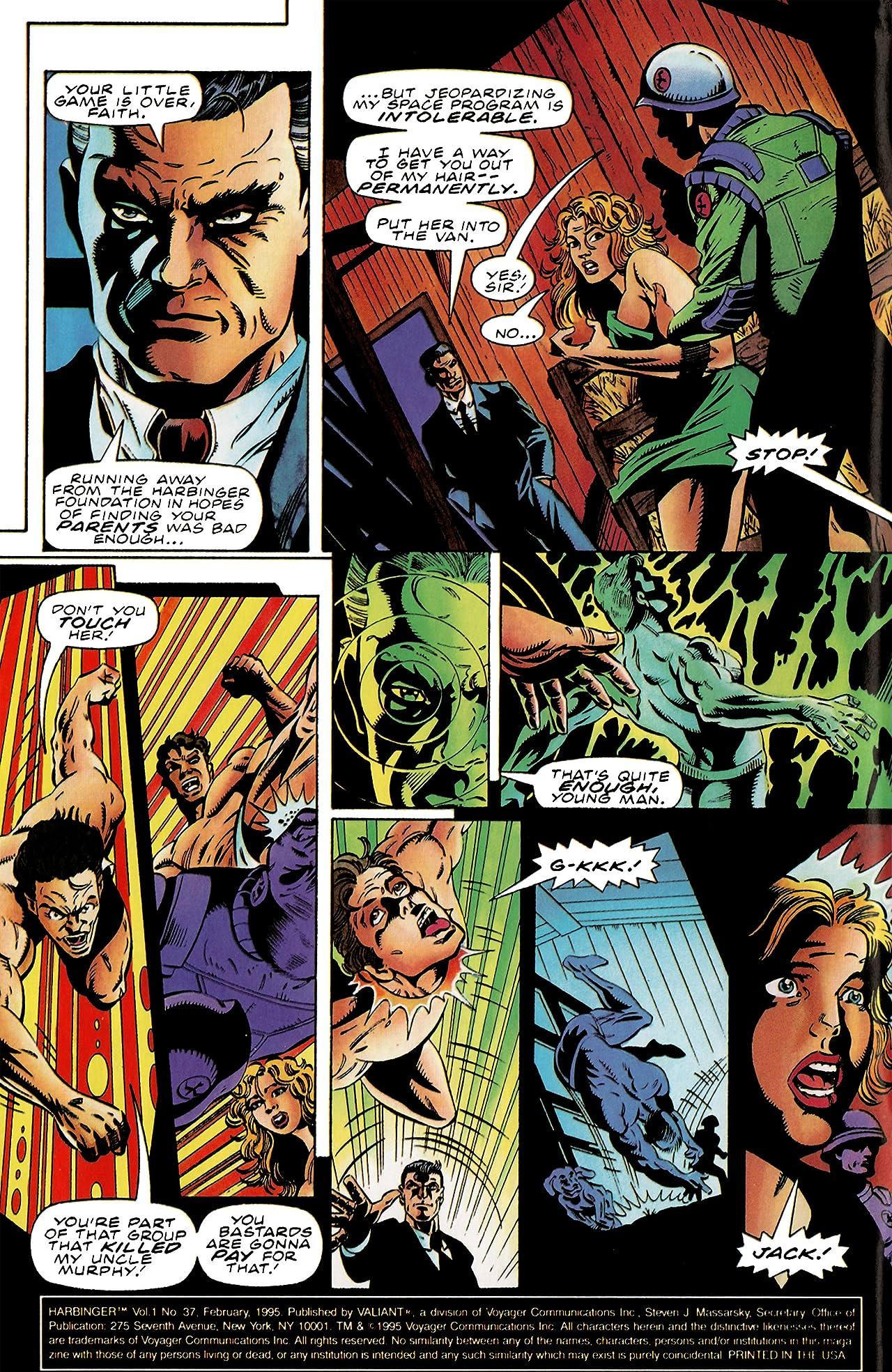 Harbinger (1992-1995) #37