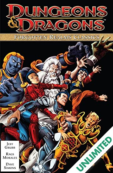 Dungeons & Dragons: Forgotten Realms Classics Vol  1 - Comics by comiXology