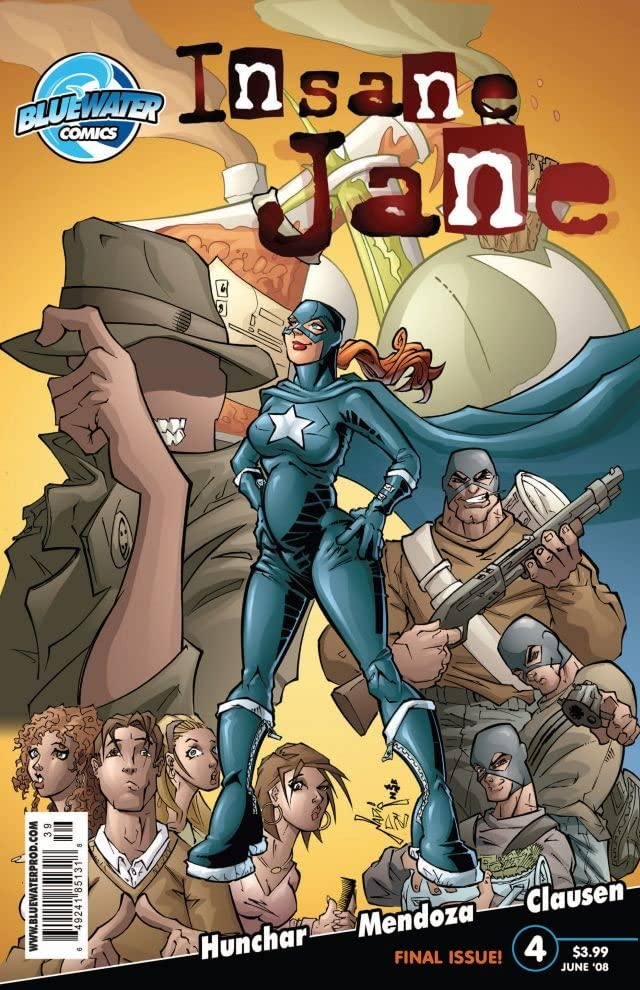 Insane Jane #4 (of 4)