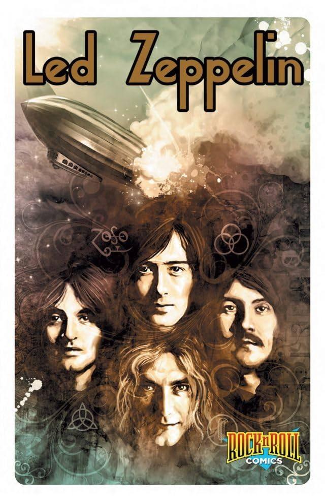 Rock N Roll Comics: Led Zeppelin