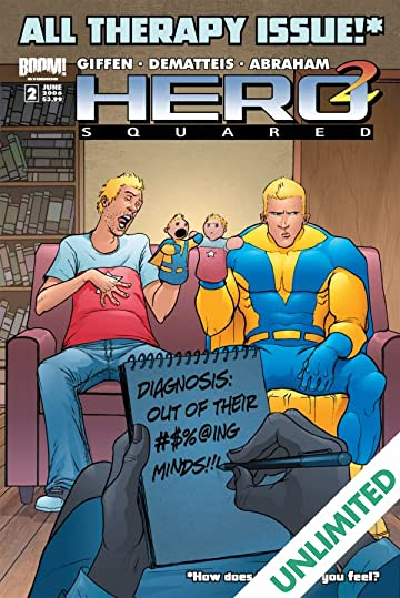 Hero Squared Vol. 2: Another Fine Mess #2 (of 6)