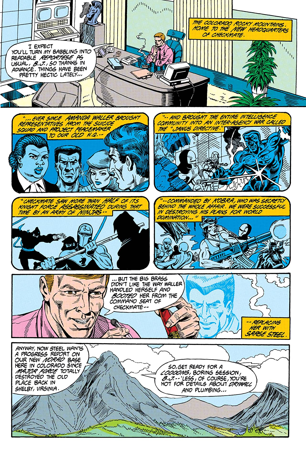 Checkmate (1988-1991) #19