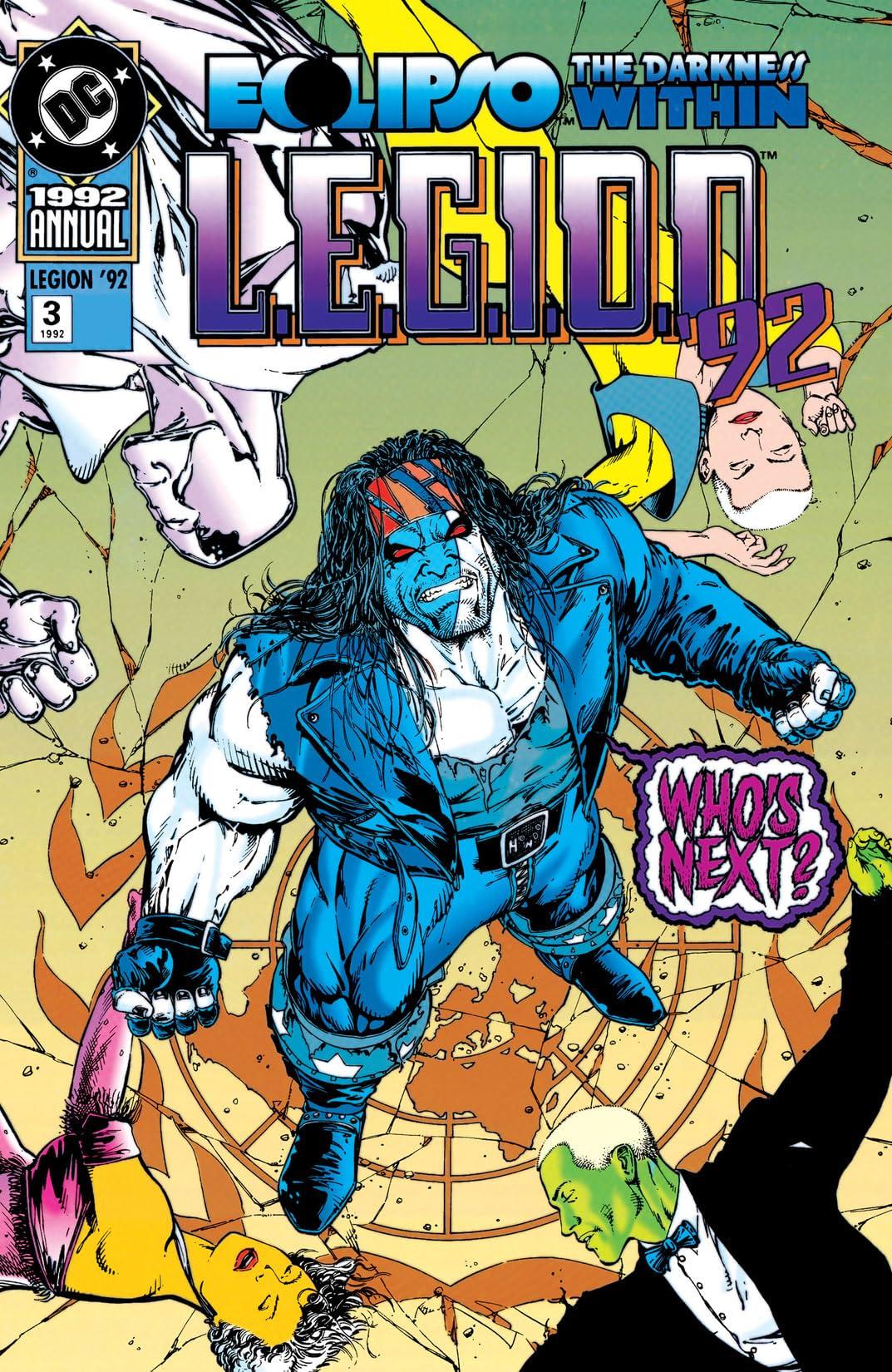 L.E.G.I.O.N. (1989-1994): Annual #3