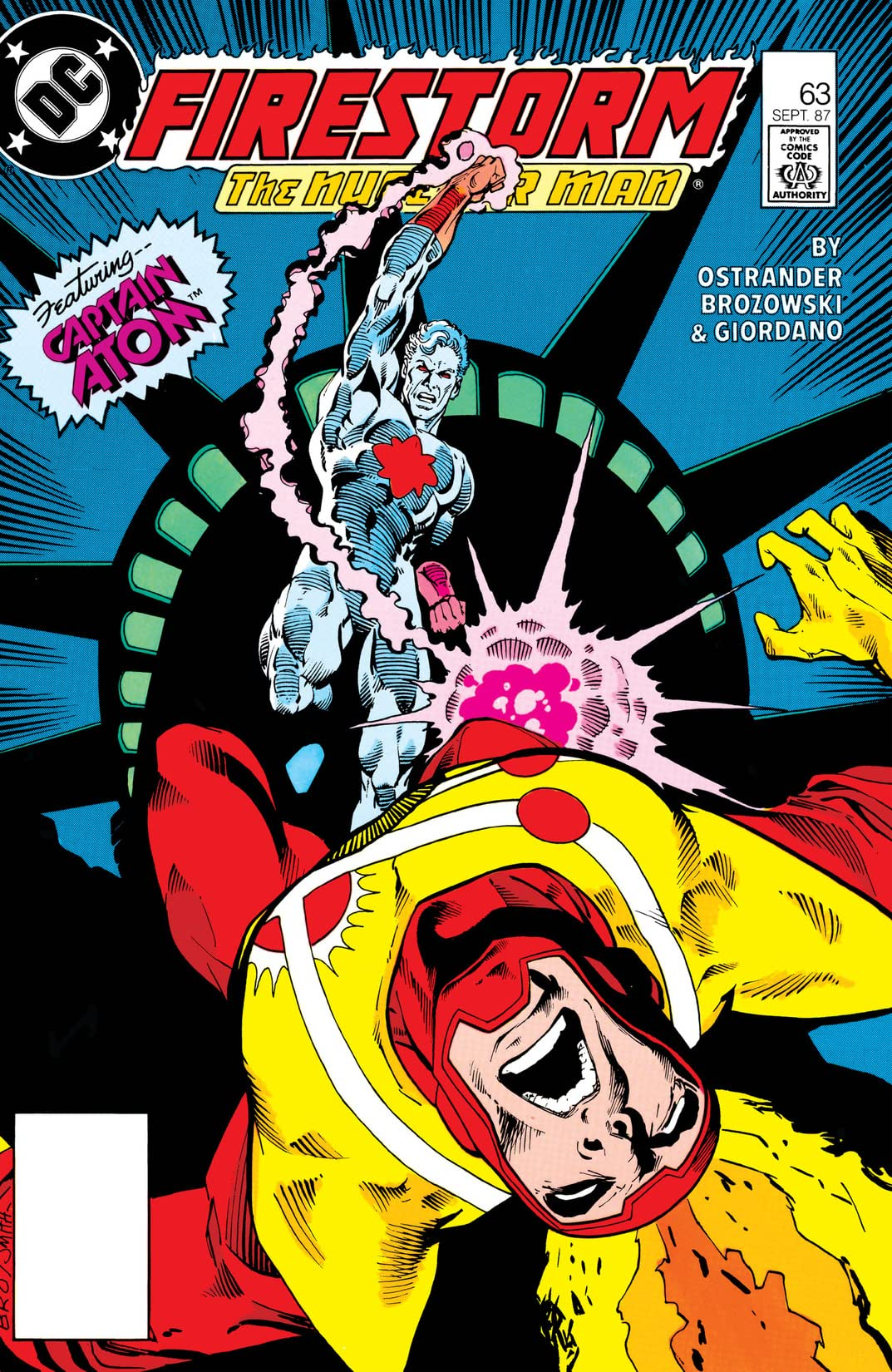 The Fury of Firestorm (1982-1990) #63