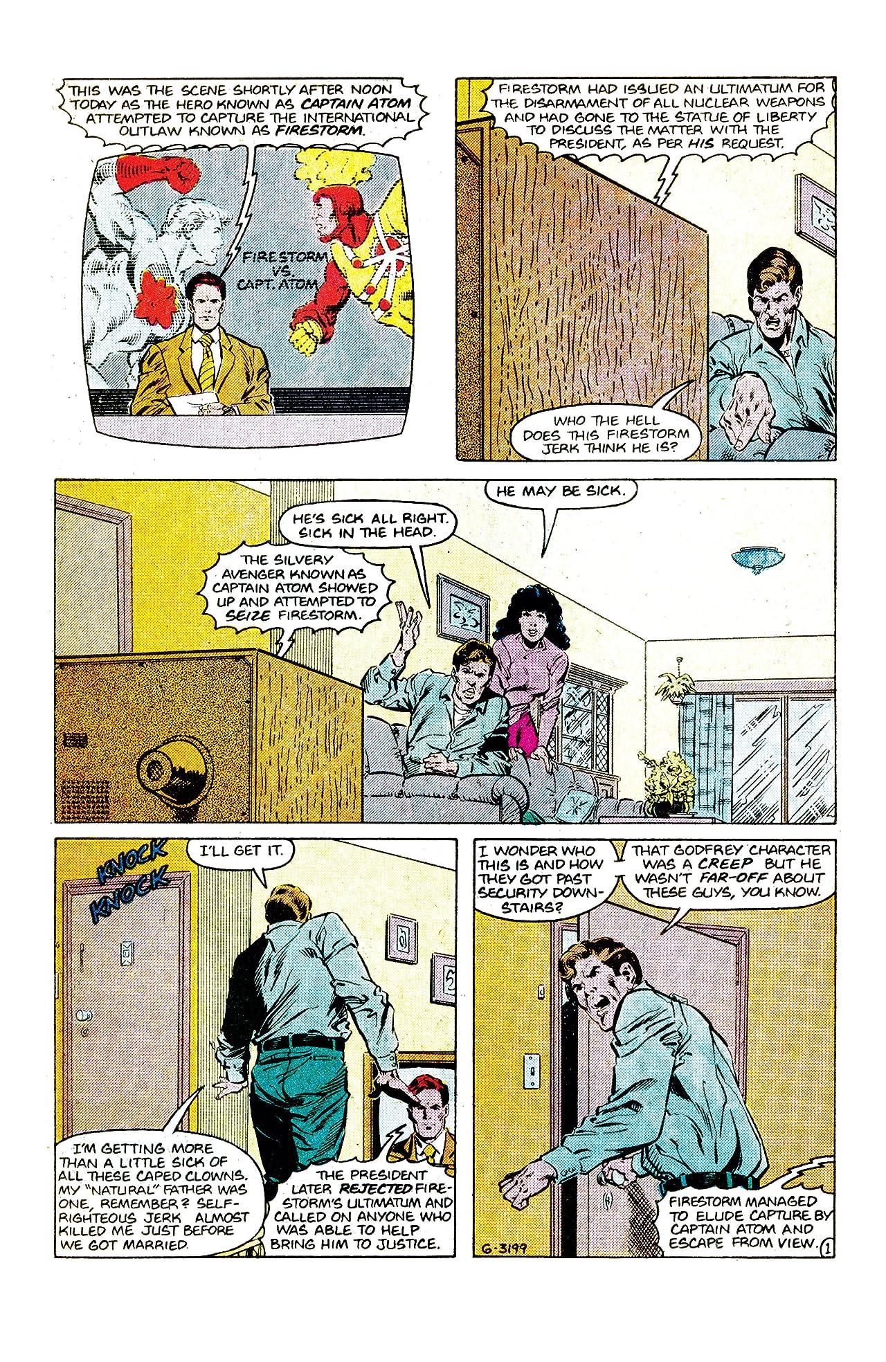 The Fury of Firestorm (1982-1990) #64