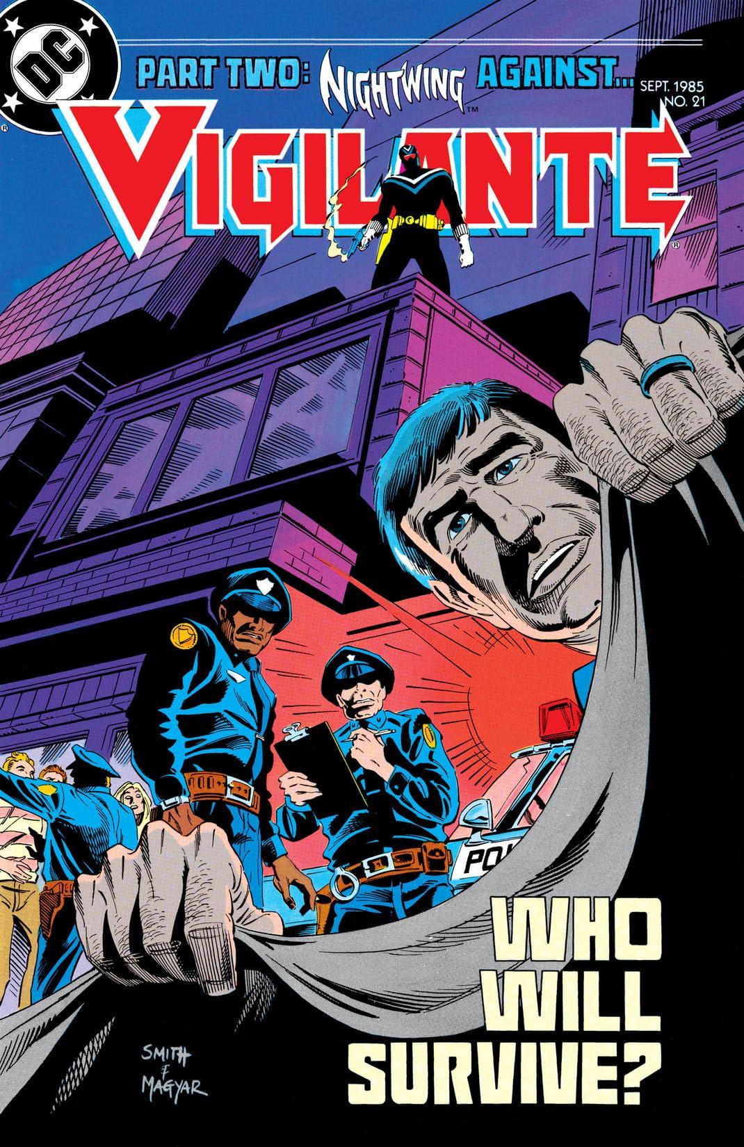 Vigilante (1983-1988) #21