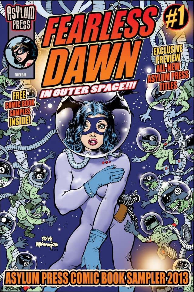 Fearless Dawn / Asylum Press Sampler: Free Comic Book 2013