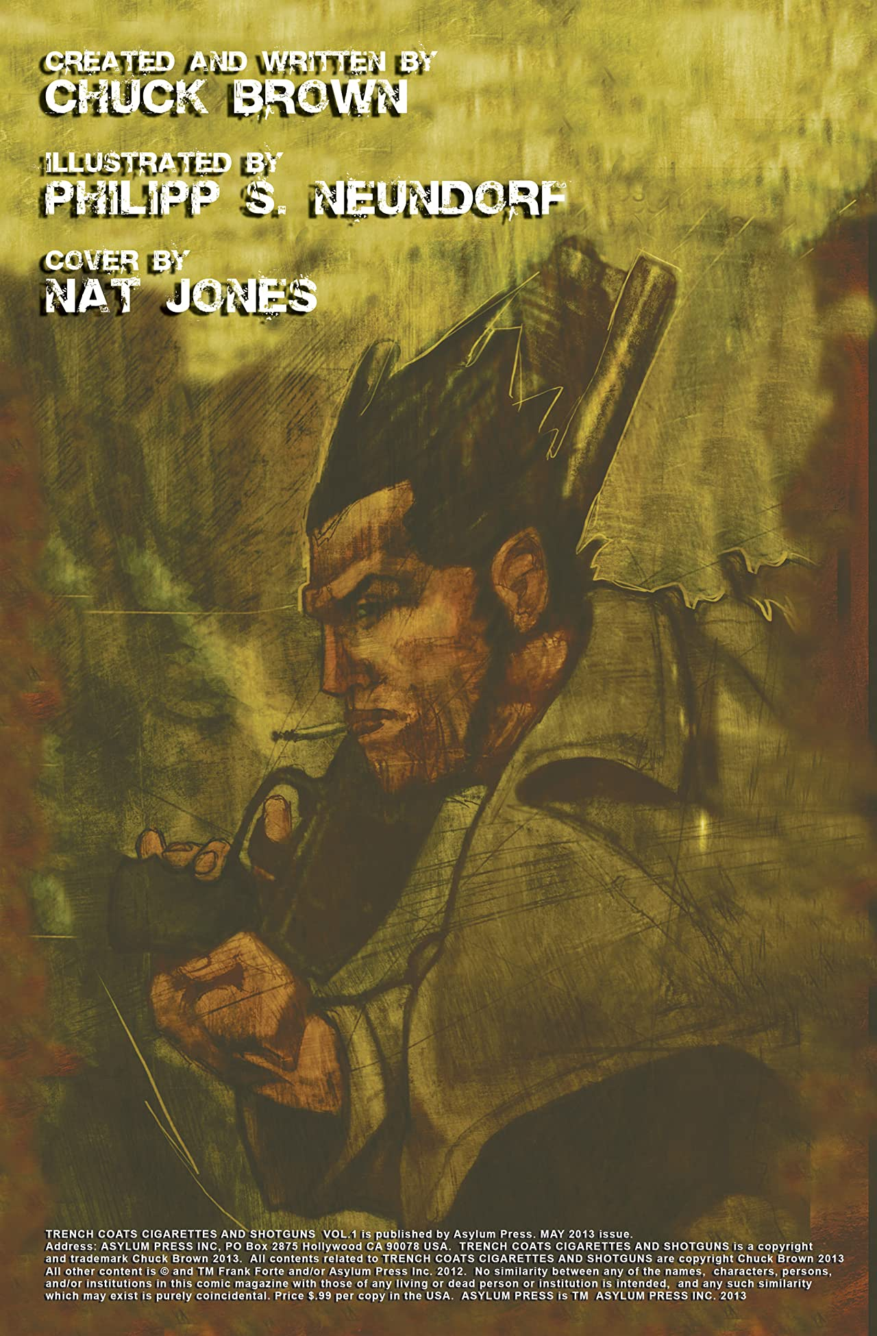 Trenchcoats, Cigarettes and Shotguns Vol. 1