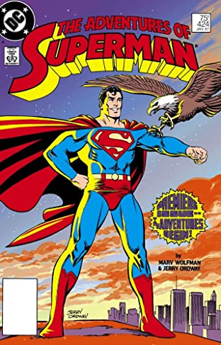 Adventures of Superman (1986-2006) #424