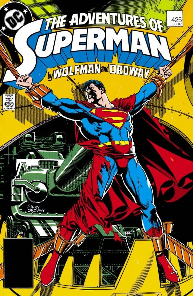 Adventures of Superman (1986-2006) #425