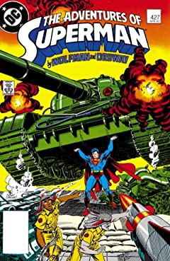 Adventures of Superman (1986-2006) No.427