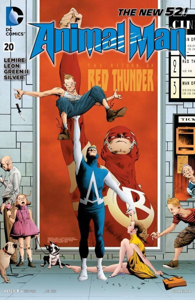 Animal Man (2011-2014) #20