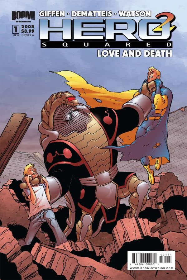 Hero Squared: Love & Death #1 (of 3)