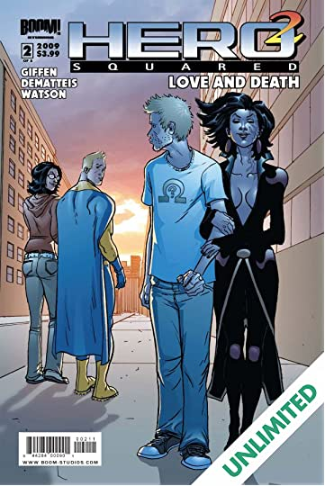 Hero Squared: Love & Death #2 (of 3)