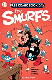 The Smurfs: FCBD Gold Book