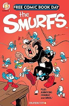 The Smurfs: FCBD Gold Book