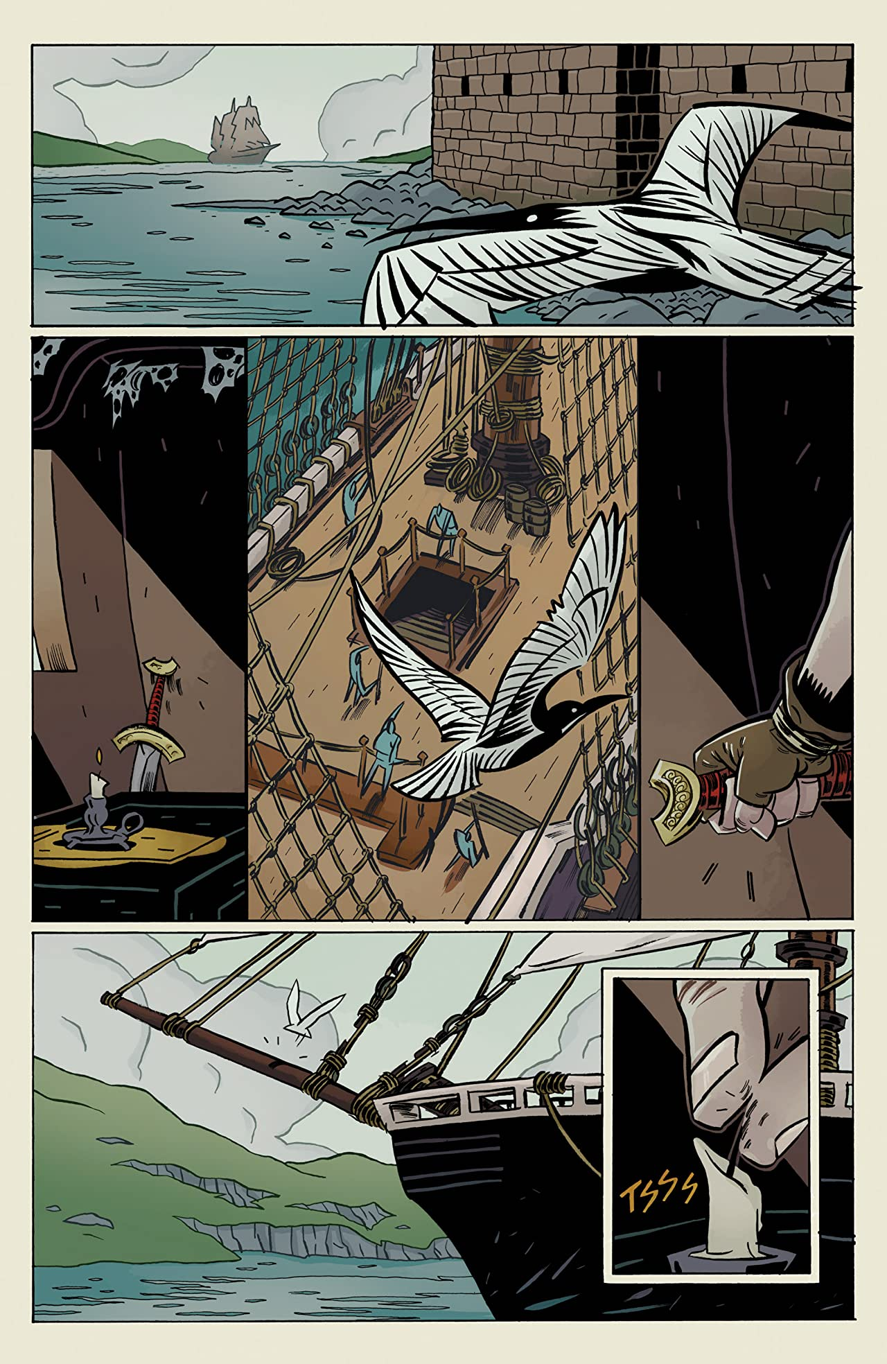 Head Lopper Vol. 1: The Island or A Plague Of Beasts