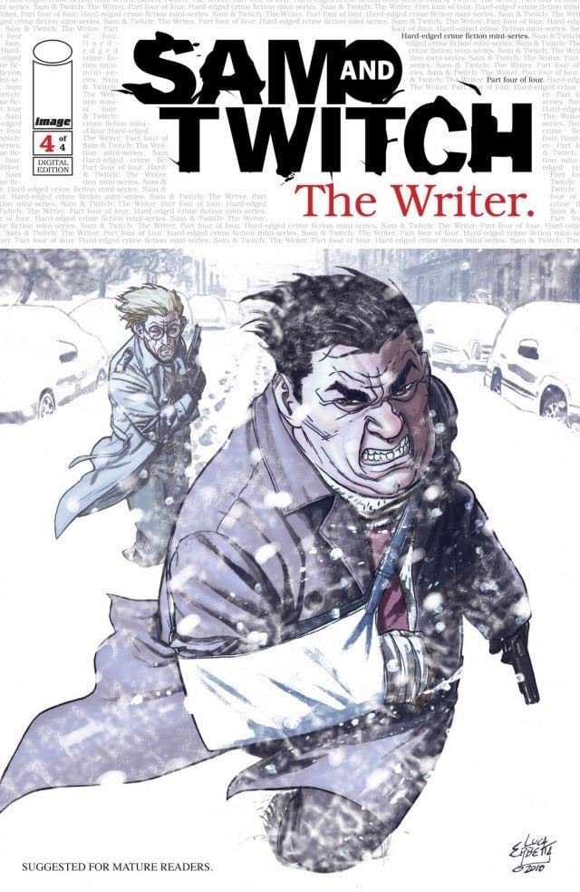 Sam and Twitch: The Writer #4
