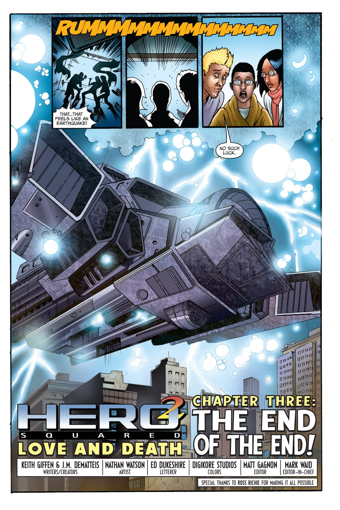 Hero Squared: Love & Death #3 (of 3)