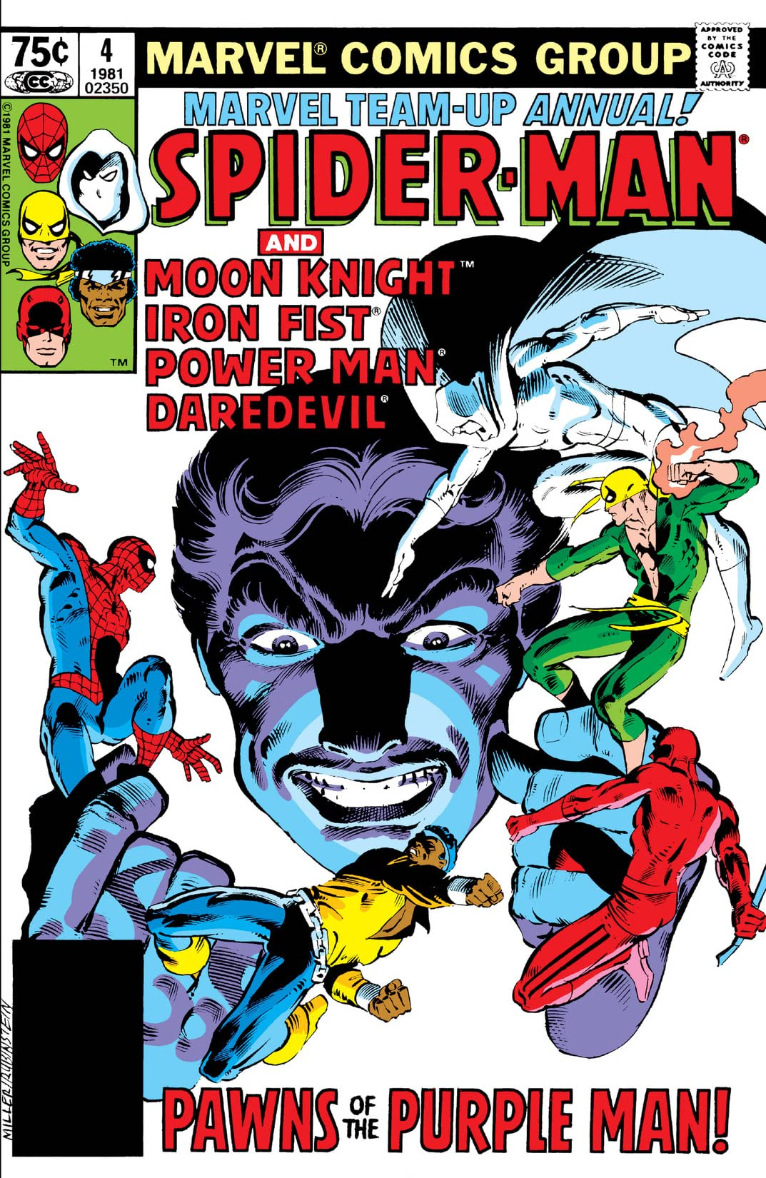 Marvel Team-Up (1972-1985) Annual #4