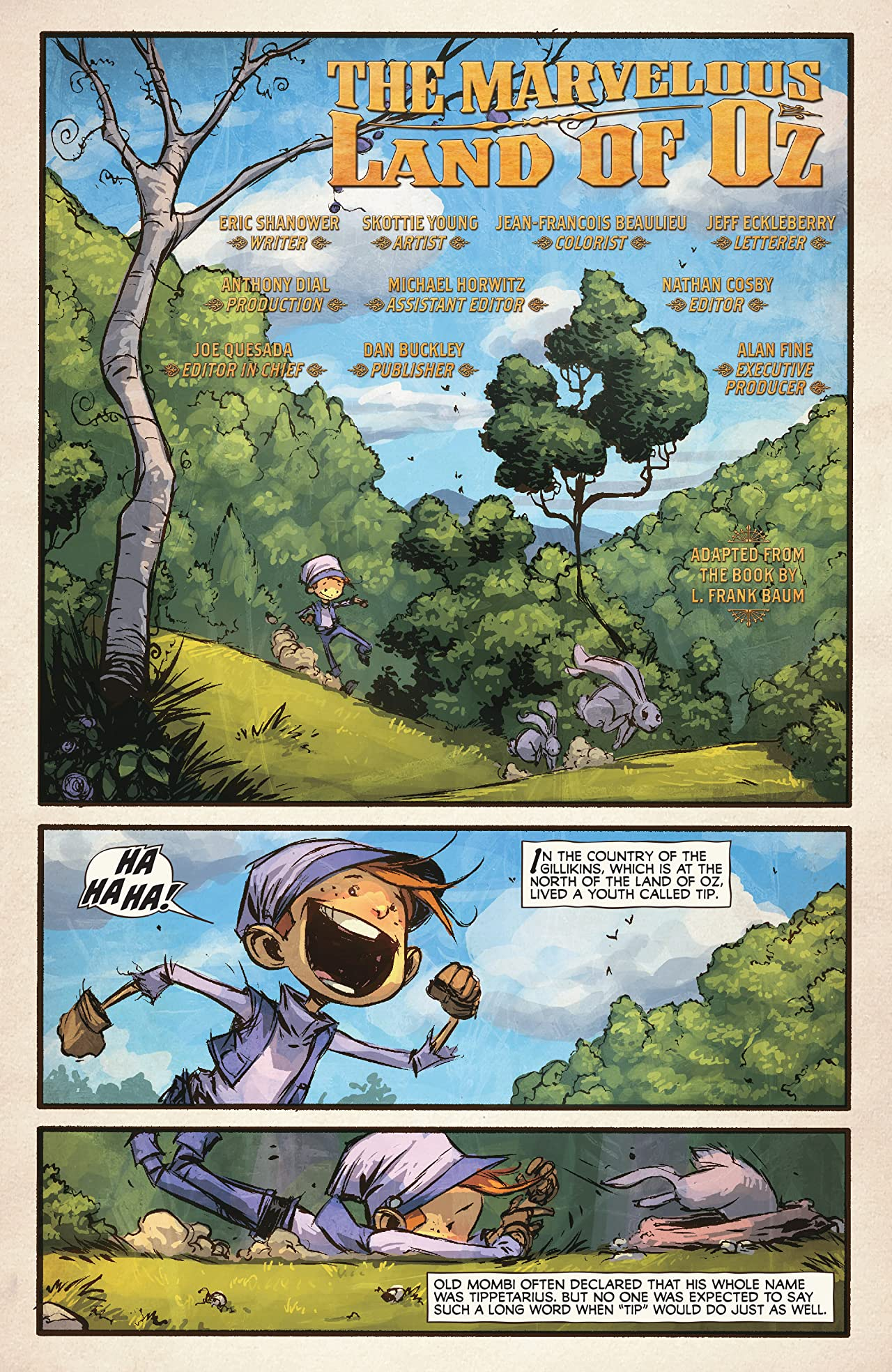 Marvelous Land of Oz (2009-2010) #1 (of 8)