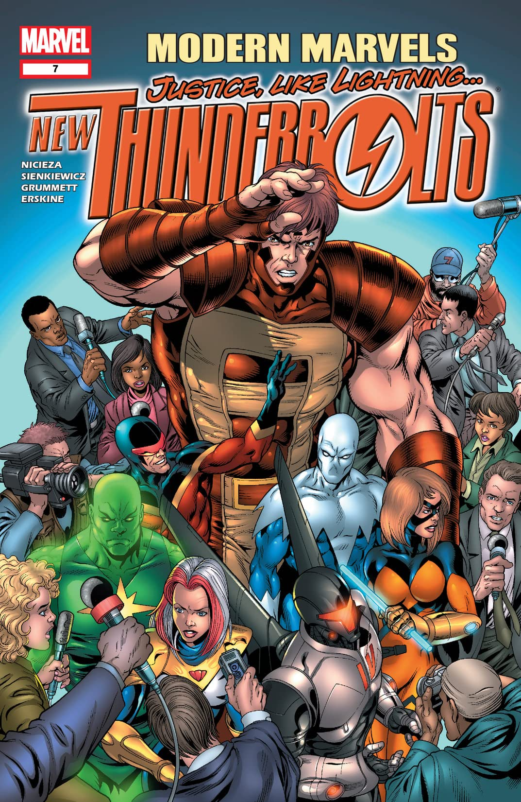 New Thunderbolts (2004-2006) #7