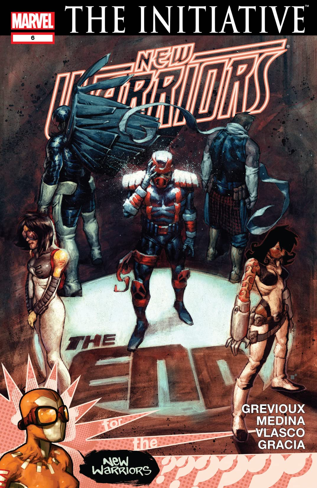 New Warriors (2007-2009) #6