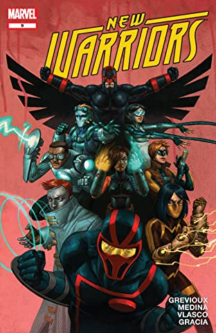 New Warriors (2007-2009) #9