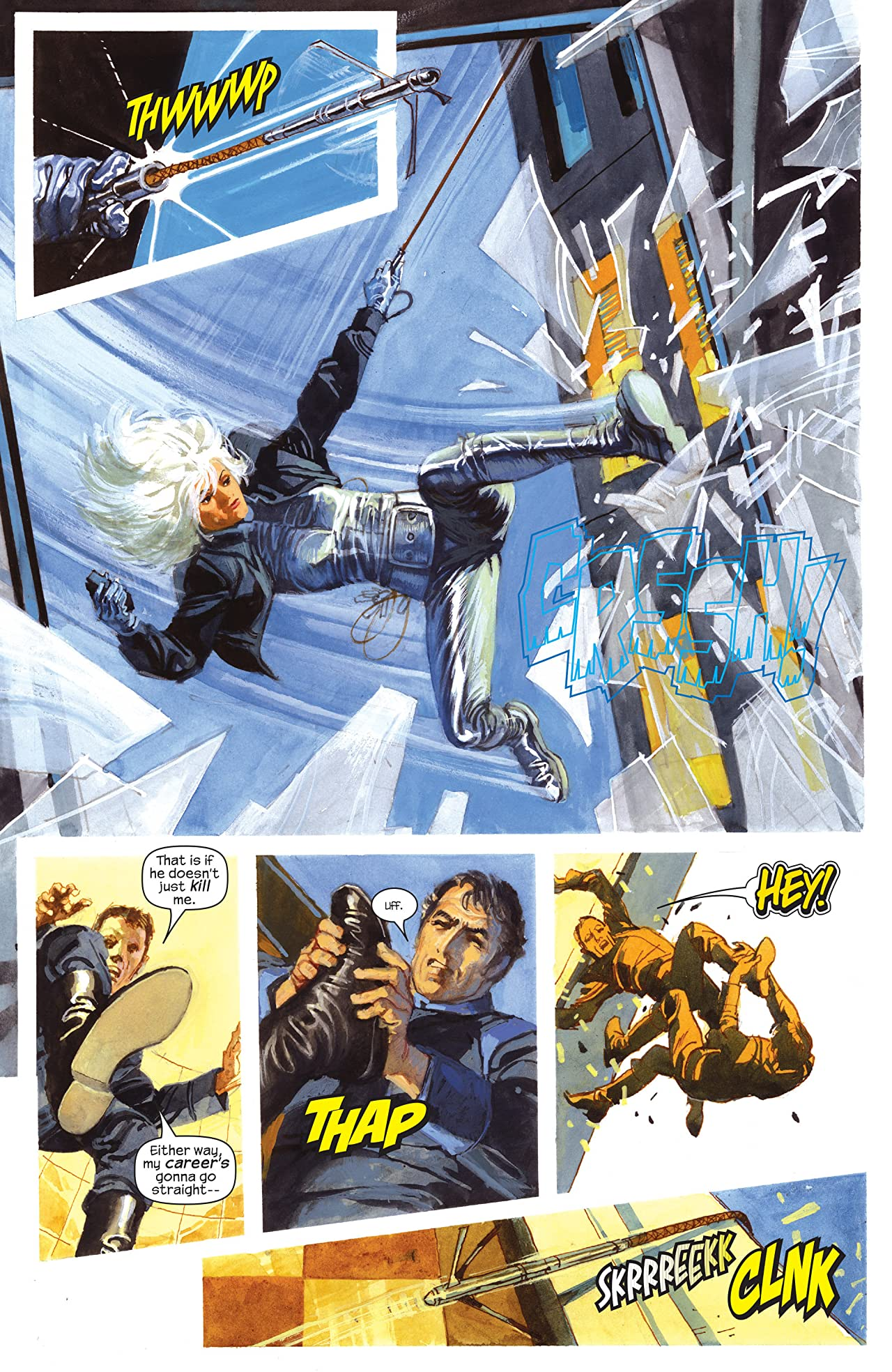 Sable & Fortune (2006) #3 (of 4)