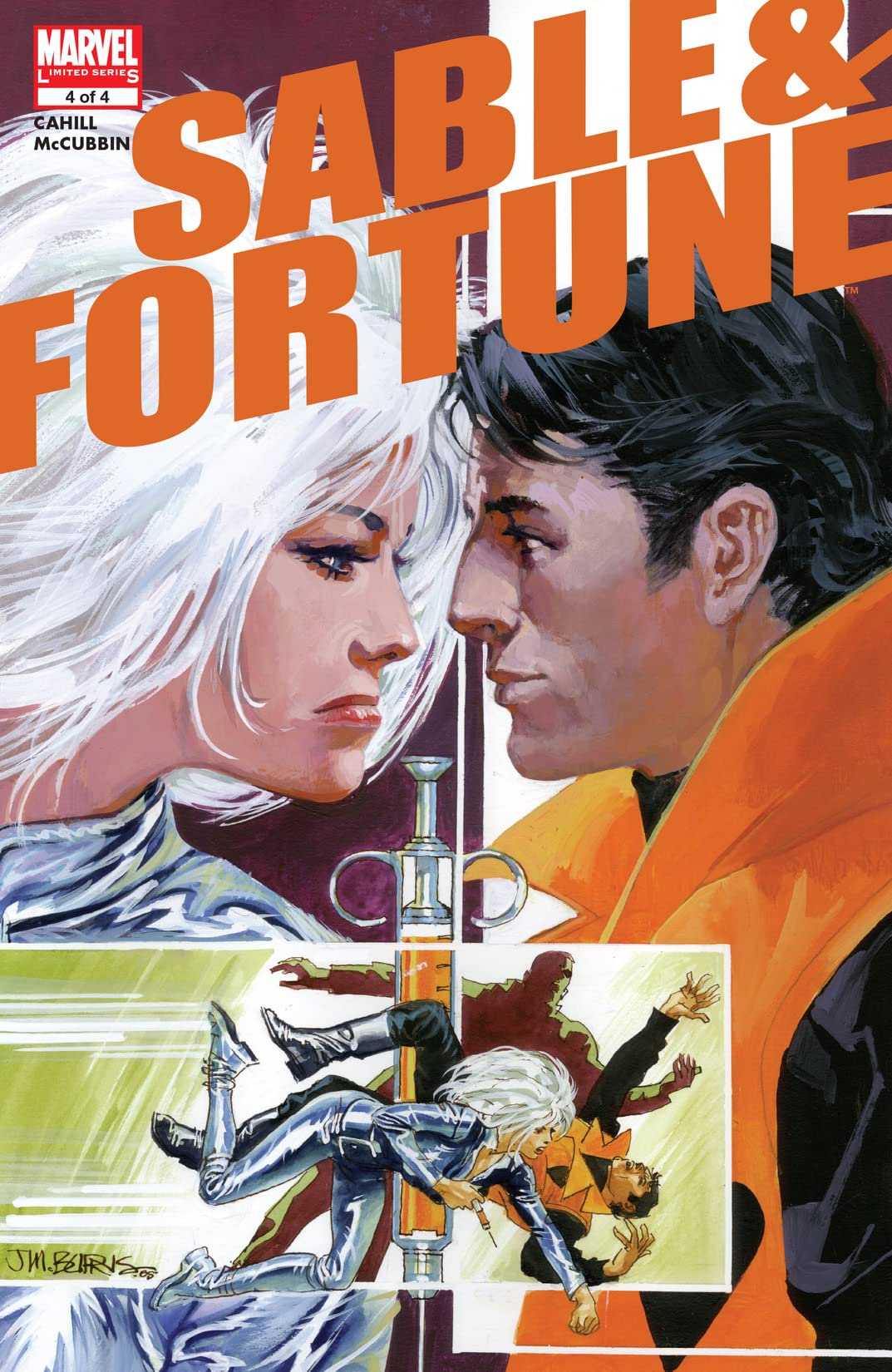 Sable & Fortune (2006) #4 (of 4)