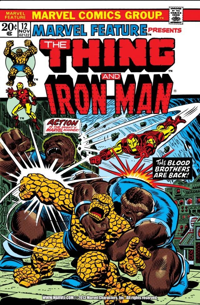 Marvel Feature (1971-1973) #12
