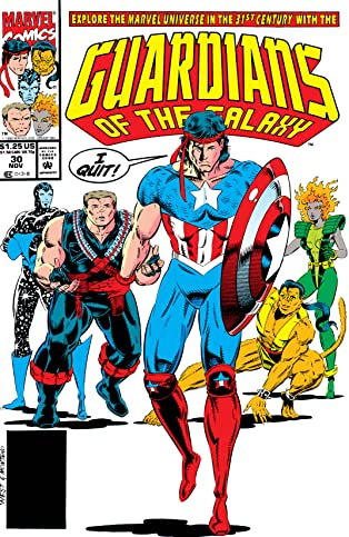 Guardians of the Galaxy (1990-1995) #30