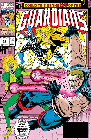 Guardians of the Galaxy (1990-1995) #31