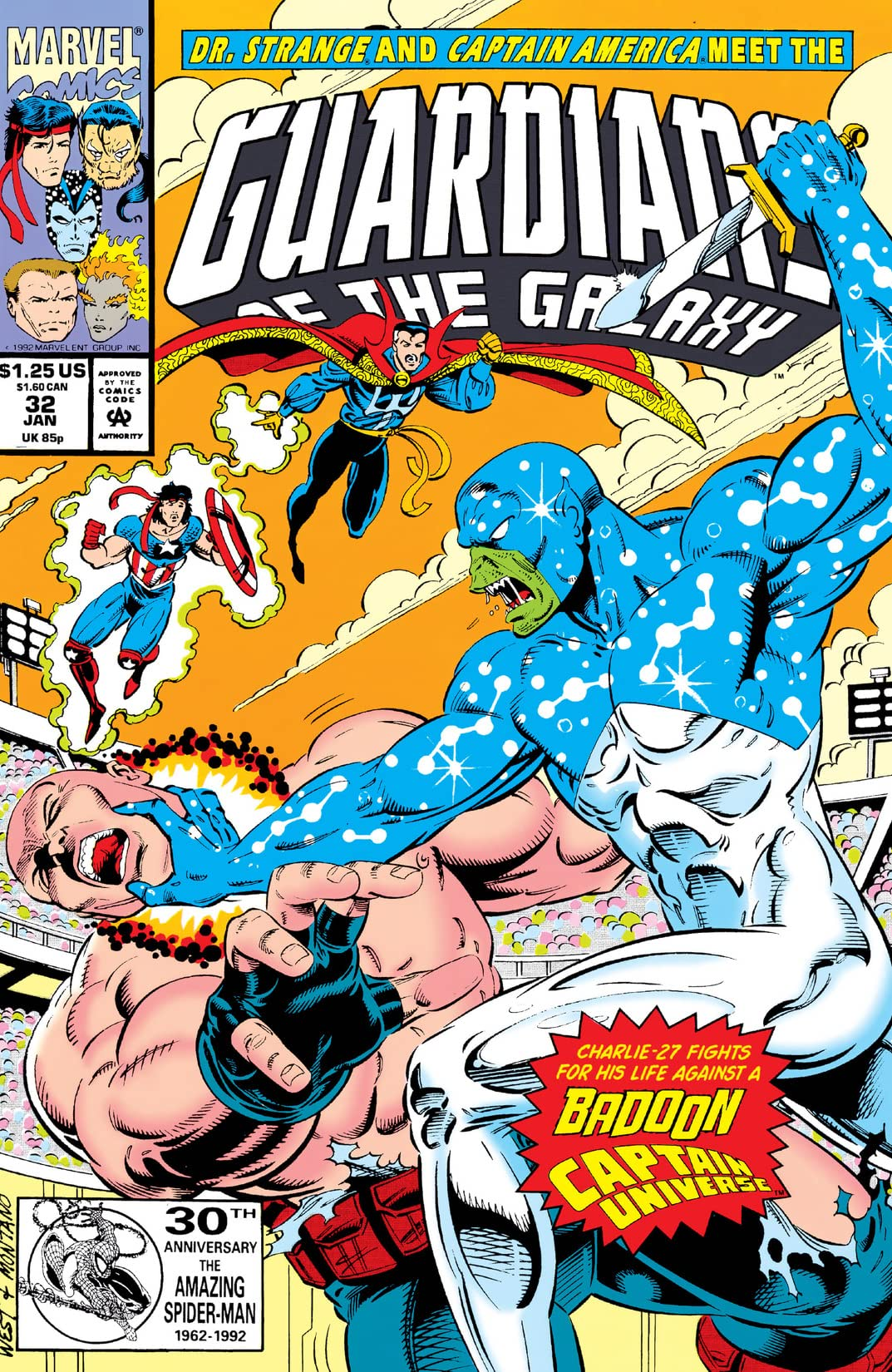 Guardians of the Galaxy (1990-1995) #32