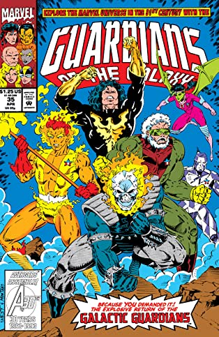 Guardians of the Galaxy (1990-1995) #35