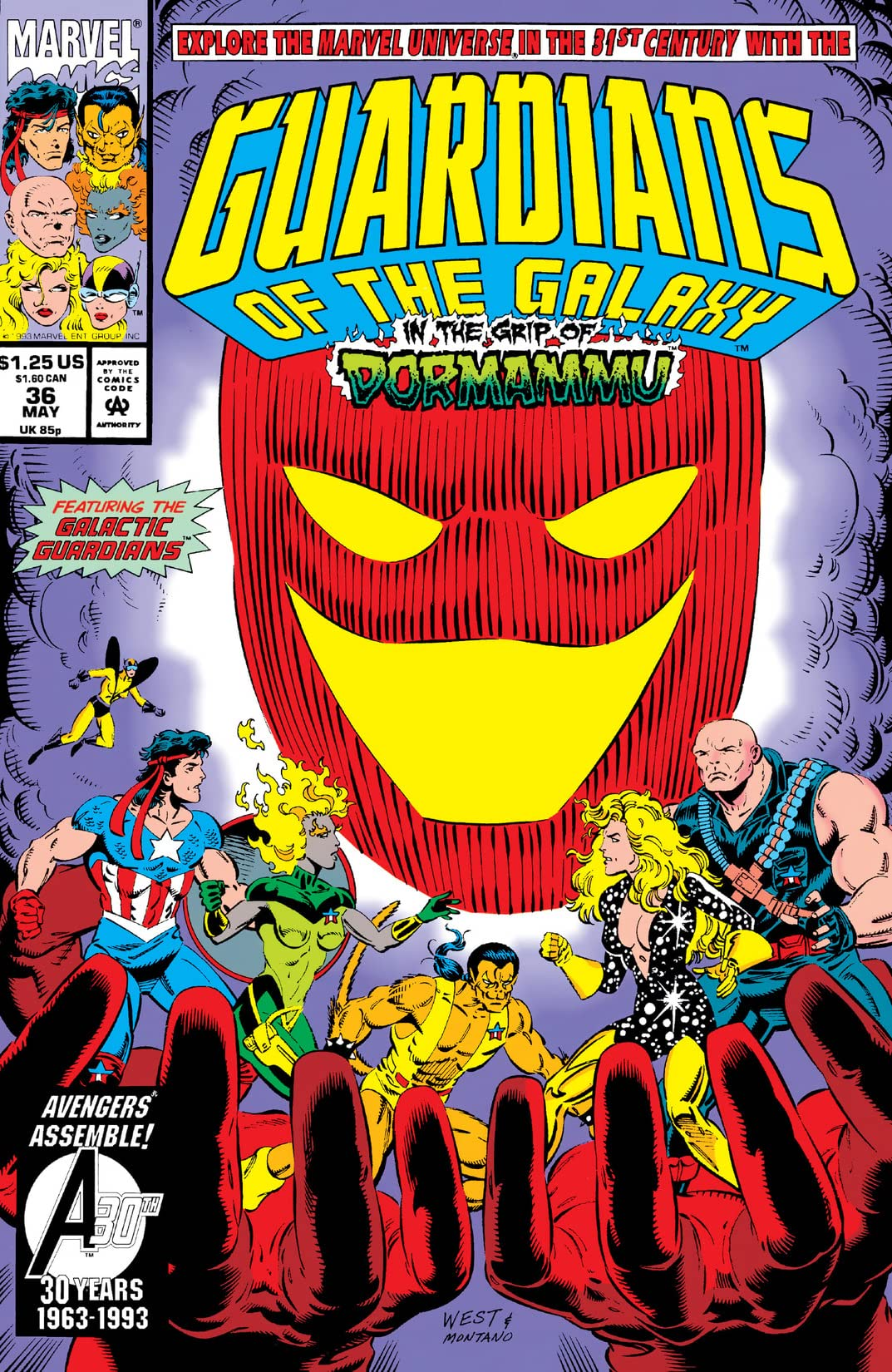 Guardians of the Galaxy (1990-1995) #36
