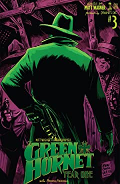 Green Hornet: Year One #3