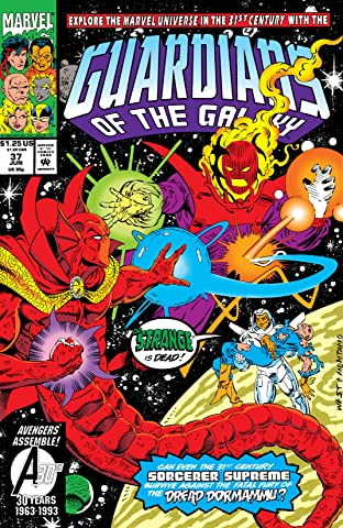 Guardians of the Galaxy (1990-1995) #37