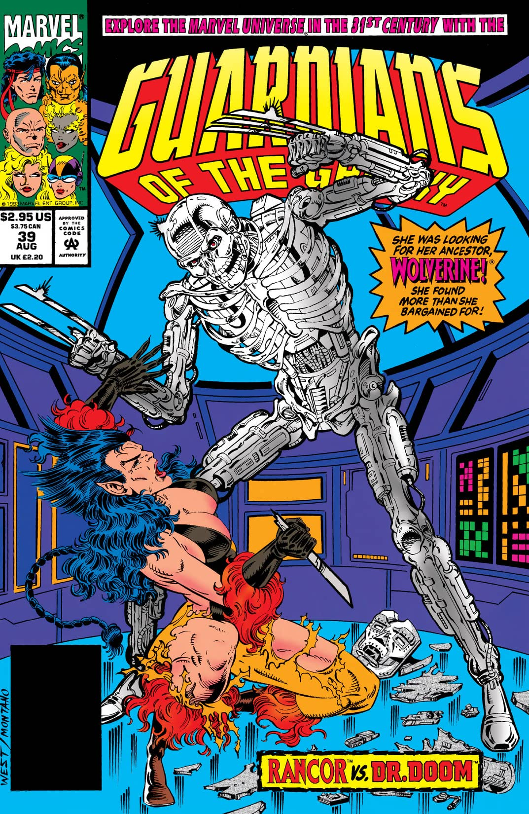 Guardians of the Galaxy (1990-1995) #39