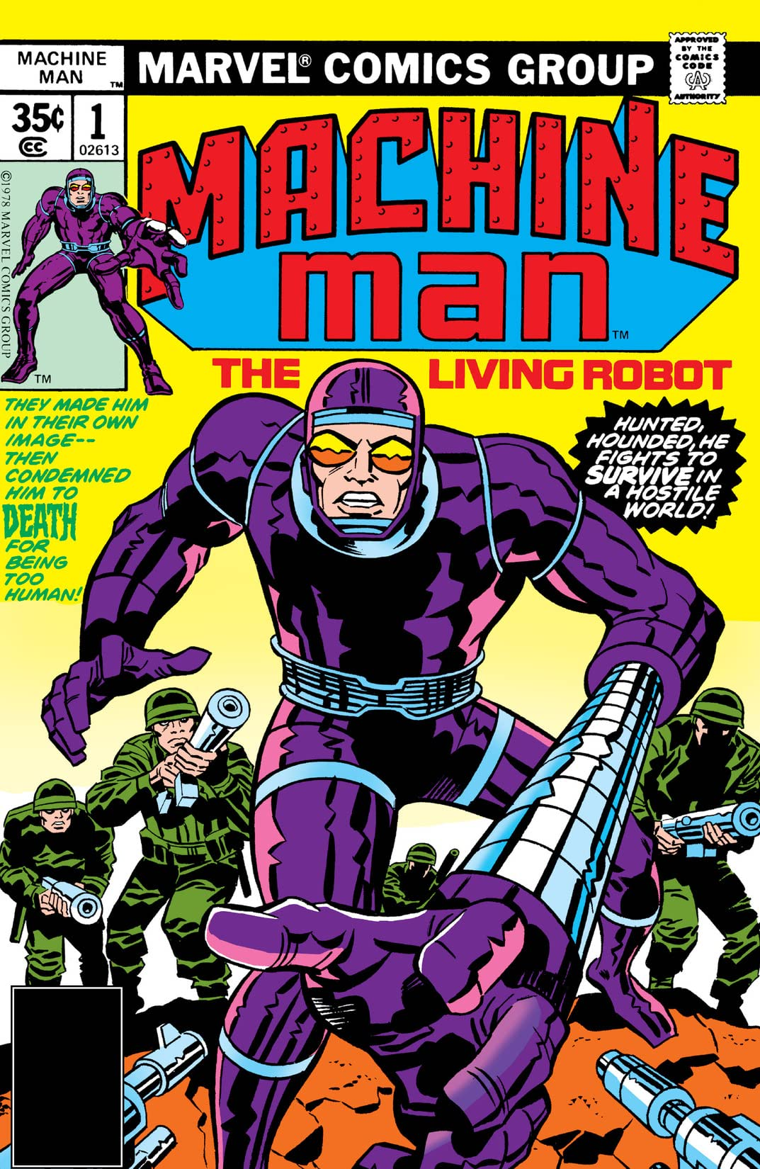 Machine Man (1978-1981) #1