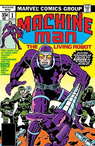 Machine Man (1978-1981) #1