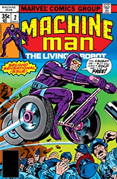 Machine Man (1978-1981) #2