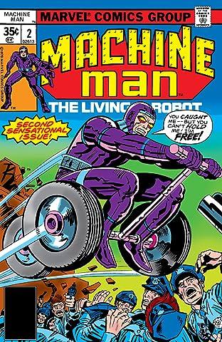 Machine Man (1978-1981) #2