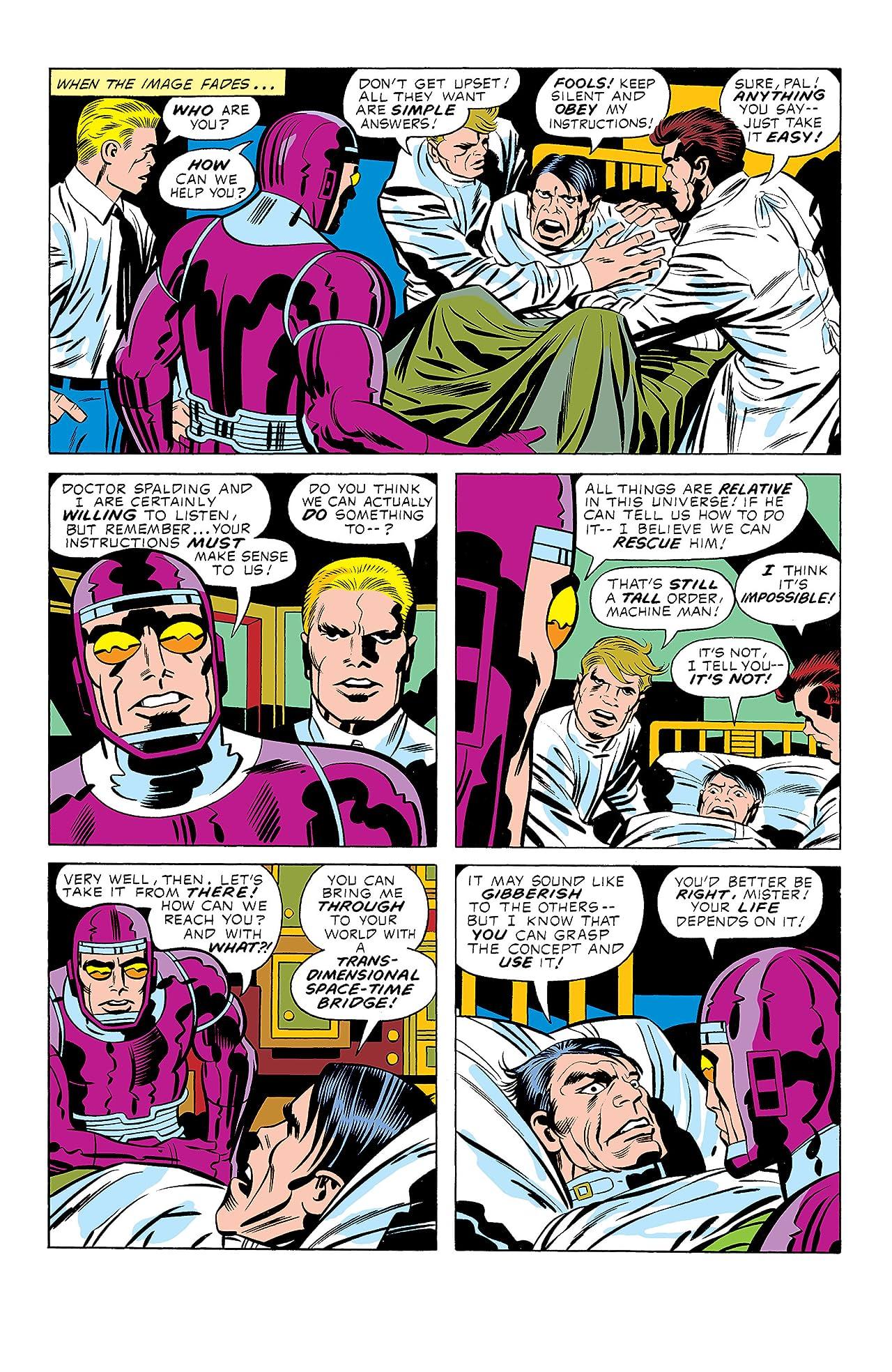 Machine Man (1978-1981) #3