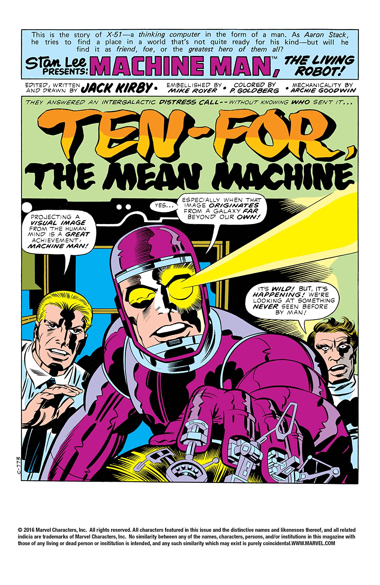 Machine Man (1978-1981) #3