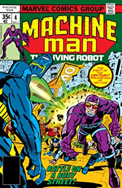 Machine Man (1978-1981) #4