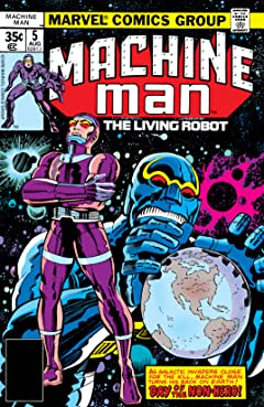 Machine Man (1978-1981) #5